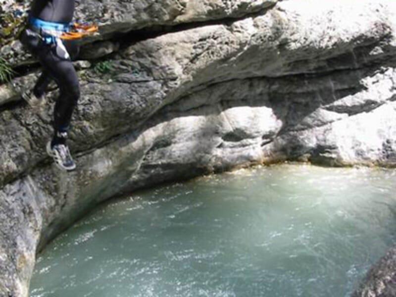 Journée Canyoning en Italie - Canyon du Caprié